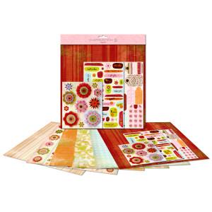 "Paper Kit ""Blumen"" 30,5 x 30,5 cm"