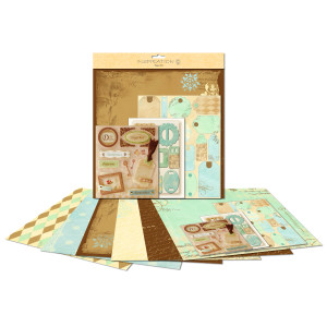"Paper Kit ""Natur"" 30,5 x 30,5 cm"