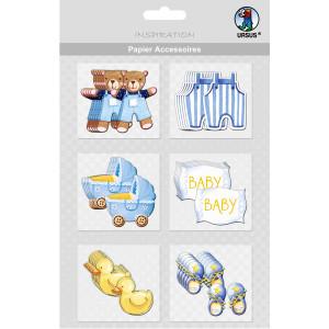 """Papier Accessoires """"Baby"""" Jungen"""