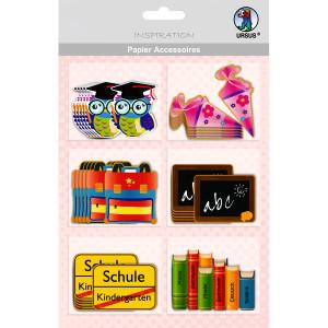 """Papier Accessoires """"Schulanfang"""" Mädchen"""