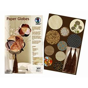 "Papierkreise / Paper Globes ""Amber"""