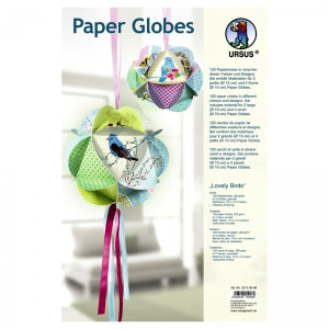 "Papierkreise / Paper Globes ""Lovely Birds"""
