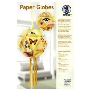 """Papierkreise / Paper Globes """"Pretty Butterflies"""""""