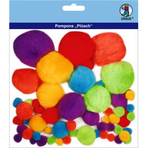 """Pompons """"Plüsch"""" Mix 2"""