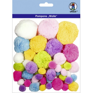 "Pompons ""Wolle"" Mix 1"