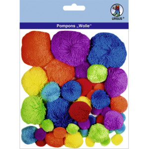 "Pompons ""Wolle"" Mix 2"