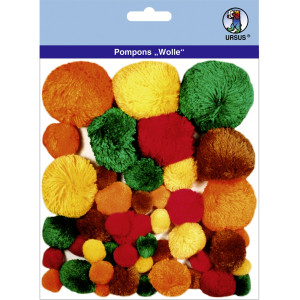 "Pompons ""Wolle"" Mix 7"