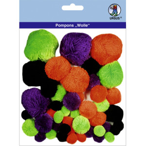 "Pompons ""Wolle"" Mix 8"