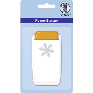 """Power Stanzer """"mittel"""" Schneeflocke"""