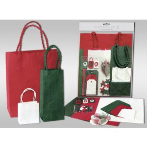 """Präsenttaschen-Set """"Weihnachten"""""""