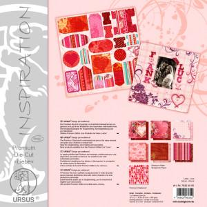 """Premium Die-Cut """"Liebe"""" 30,5 x 30,5 cm - 5 Blatt"""