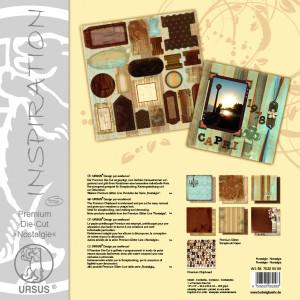 "Premium Die-Cut ""Nostalgie"" 30,5 x 30,5 cm - 5 Blatt"