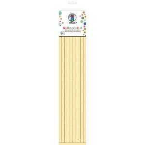 Quillingstreifen, ca. 10 mm, Pastelfarben