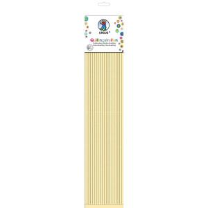 Quillingstreifen, ca. 5 mm, Pastelfarben