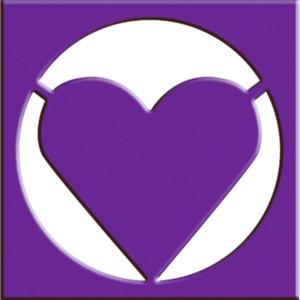Rahmen-Locher Herz mit Metallstanze
