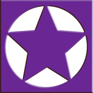 Rahmen-Locher Stern mit Metallstanze