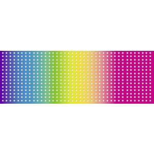Regenbogen-Stickkarton 300 g/qm 34 x 50 cm - 10 Blatt sortiert
