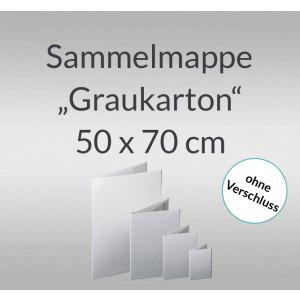 """Sammelmappe """"Graukarton"""" 50 x 70 cm"""