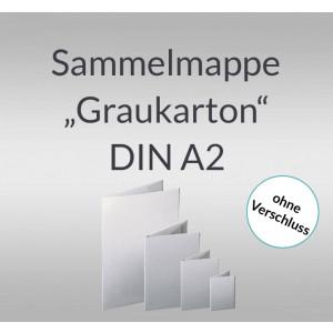 "Sammelmappe ""Graukarton"" DIN A2"