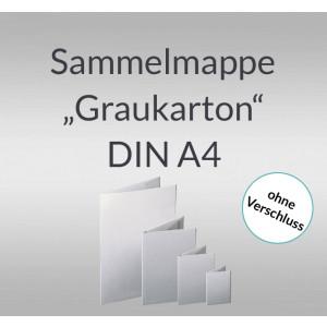 "Sammelmappe ""Graukarton"" DIN A4"