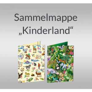 """Sammelmappe """"Kinderland"""" DIN A3"""