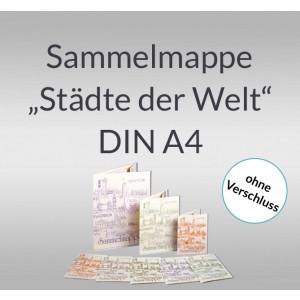 """Sammelmappe """"Städte der Welt"""" DIN A4"""