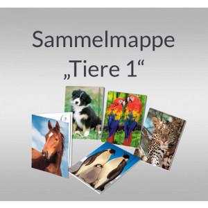 """Sammelmappe """"Tiere 1"""" DIN A3"""