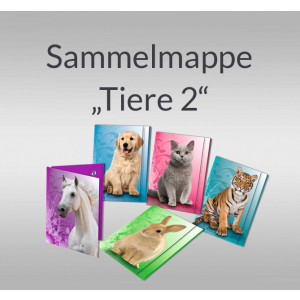 """Sammelmappe """"Tiere 2"""" DIN A3"""