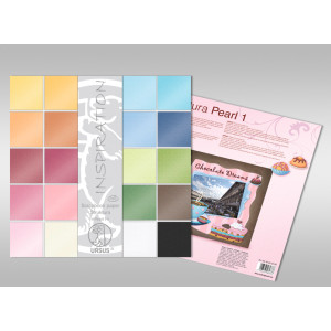 "Scrapbooking Papier Block ""Struktura Pearl 1"" 30,5 x 30,5 cm - 20 Blatt sortiert"
