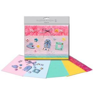 Scrapbooking-Set rosa