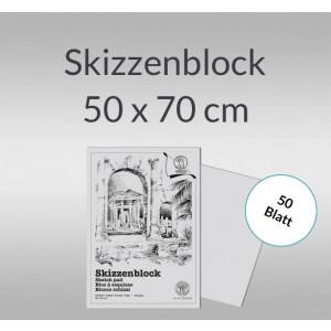 Skizzenblock 100 g/qm 50 x 70 cm