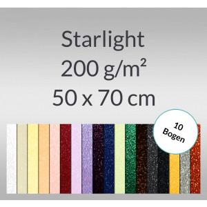 Starlight 200 g/qm 50 x 70 cm - 10 Bogen