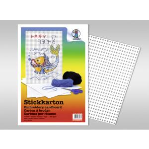 Stickkarton Happy Fisch - 10 Blatt