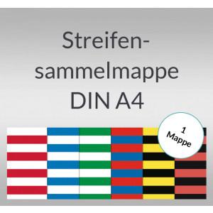 Streifen-Sammelmappe DIN A4