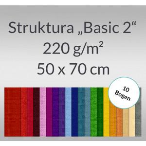 """Struktura """"Basic 2"""" 50 x 70 cm - 10 Bogen"""