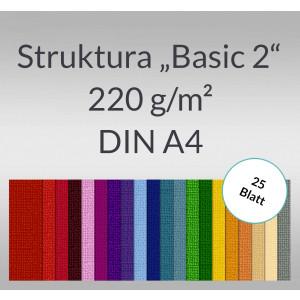 """Struktura """"Basic 2"""" DIN A4 - 25 Blatt"""