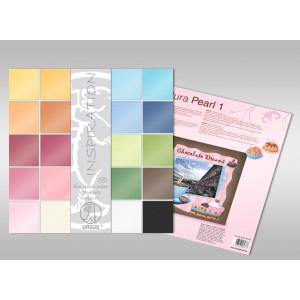 """Struktura """"Pearl 1"""" 23 x 33 cm - 5 Blatt"""