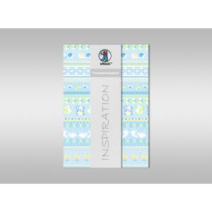"Transparentpapier ""Baby"" blau DIN A4 - 5 Blatt"