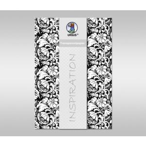 "Transparentpapier ""Black & White"" DIN A4 - 5 Blatt"