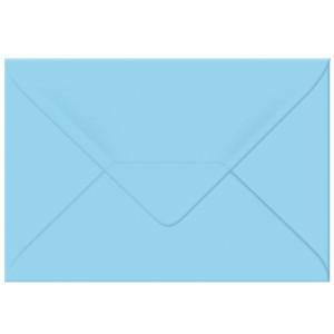 """Transparentpapier-Kuverts """"Uni"""" 115 g/qm hellblau - 5 Stück"""