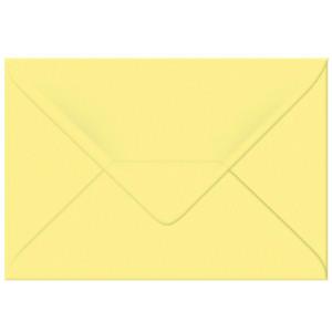 "Transparentpapier-Kuverts ""Uni"" 115 g/qm hellgelb - 5 Stück"