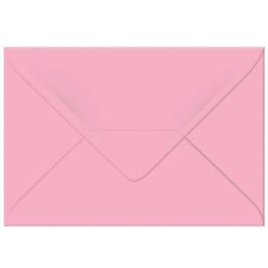 "Transparentpapier-Kuverts ""Uni"" 115 g/qm rosa - 5 Stück"