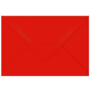 "Transparentpapier-Kuverts ""Uni"" 115 g/qm rubinrot - 5 Stück"