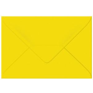 "Transparentpapier-Kuverts ""Uni"" 115 g/qm sonnengelb - 5 Stück"