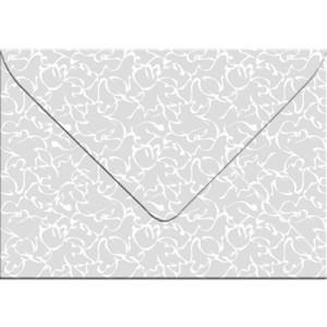 "Transparentpapier-Kuverts ""White Line"" 115 g/qm Orient - 5 Stück"