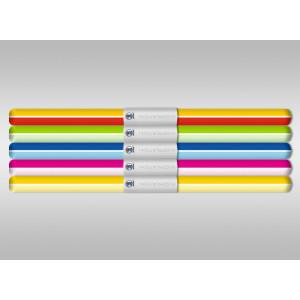 """Transparentpapier """"Parallelo"""" 50 x 61 cm - 5 Rollen sortiert"""