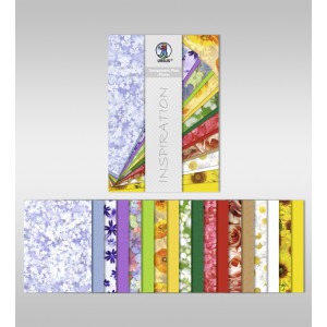 "Transparentpapier Plus ""Flora"" DIN A4 - 18 Blatt"