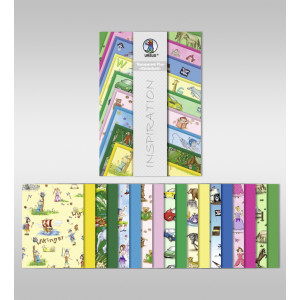 "Transparentpapier Plus ""Kinderland"" DIN A4 - 18 Blatt"