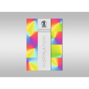 """Transparentpapier """"Regenbogen"""" DIN A4 - 5 Blatt"""