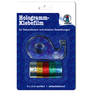 URSUS® Hologrammfolie-Klebefilm